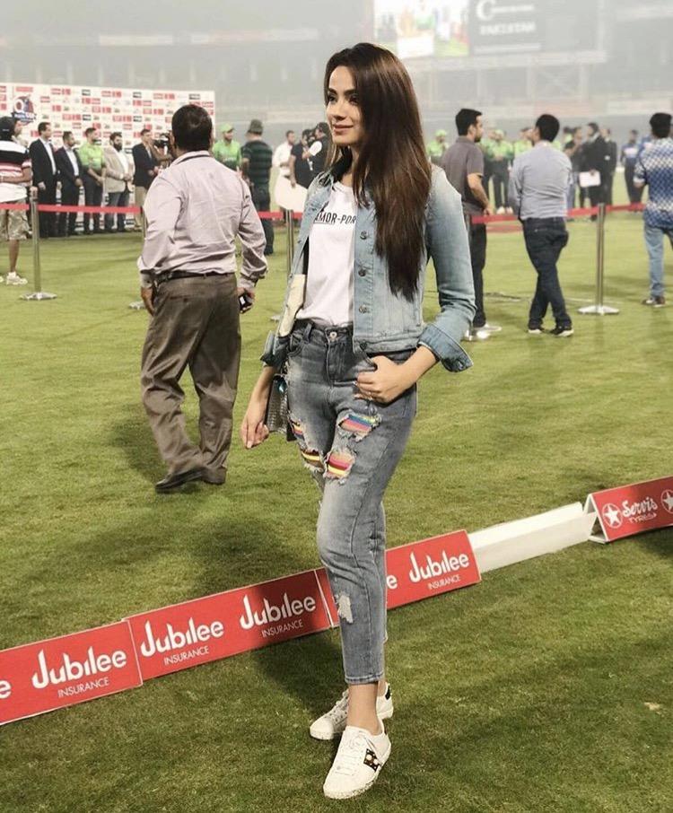 Alyzeh Gobal look
