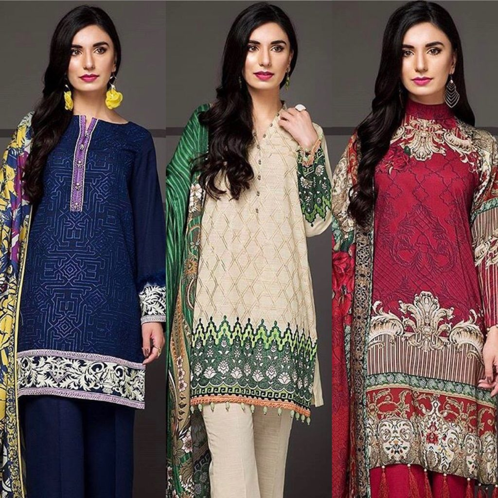 Masummery unstiched winter collection