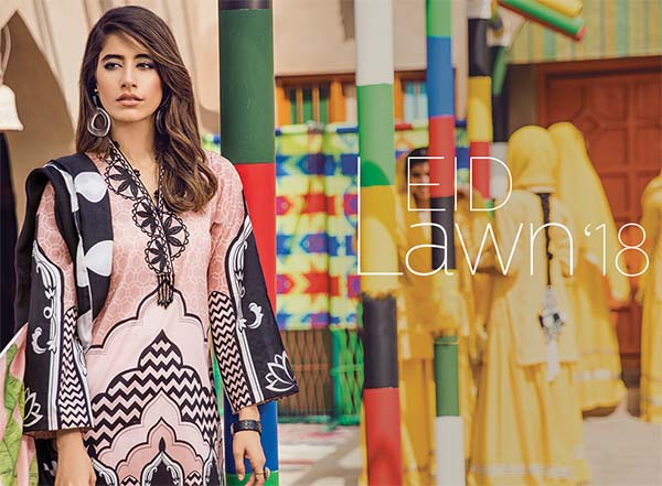 Cross Stitch Modern Nomad Eid lawn collection 2018