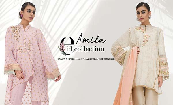 Sania Maskatiya Amila Eid collection 2018