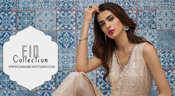 Zainab Chottani Festive Eid collection 2018