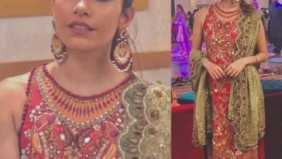 Syra Shahroz looks flawless in Tena Durrani at a wedding