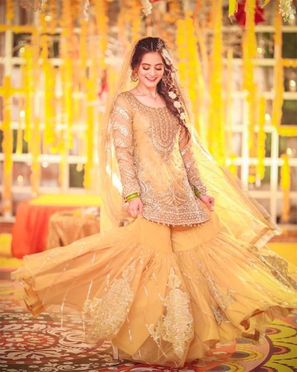 Aiman Khan Mayun dress