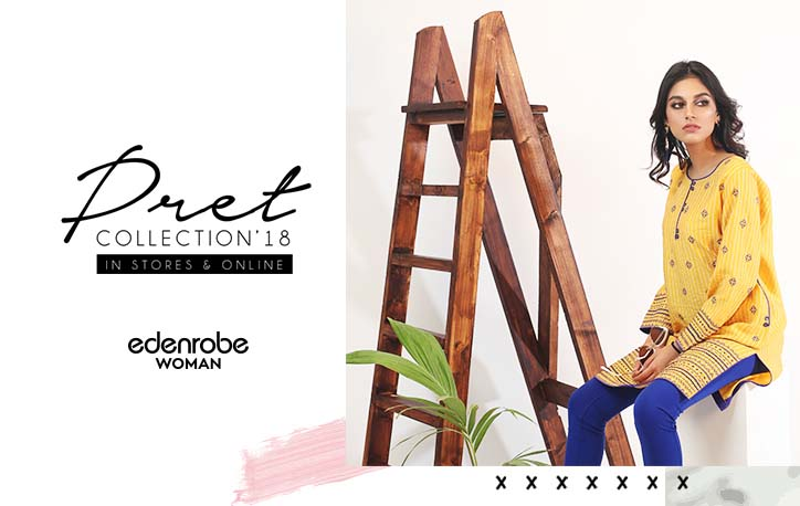 8 designs from Edenrobe Pret 18 Collection