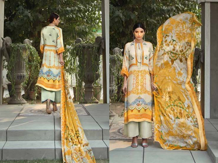 Gul Ahmed Lamis Digital collection 2018