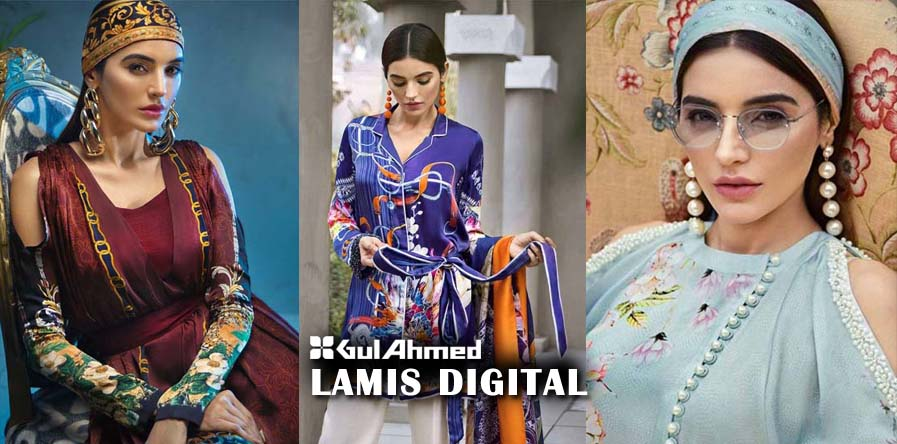 Gul Ahmed Lamis Digital collection (8 favorite designs)