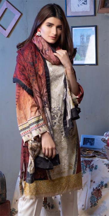 Salitext Linen Winter Shawl collection