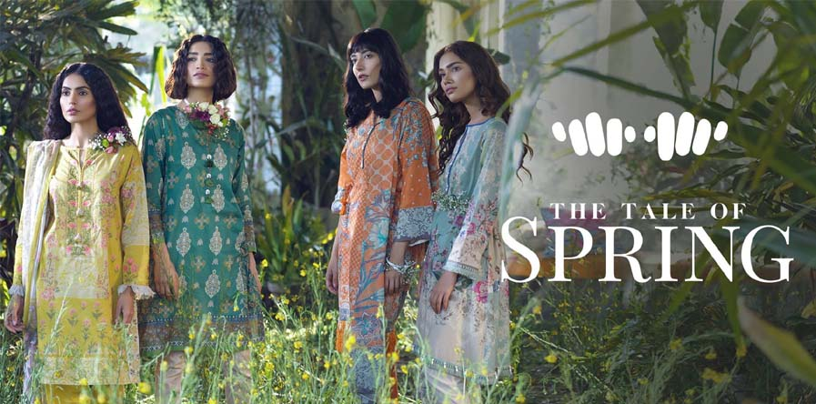 Khaadi The Tale of Spring collection 2019