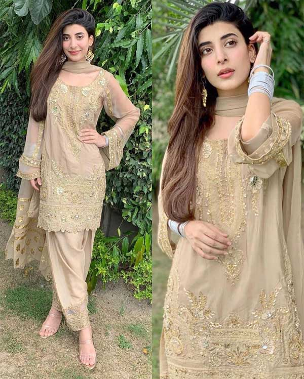 Urwa Hocane Eid dress