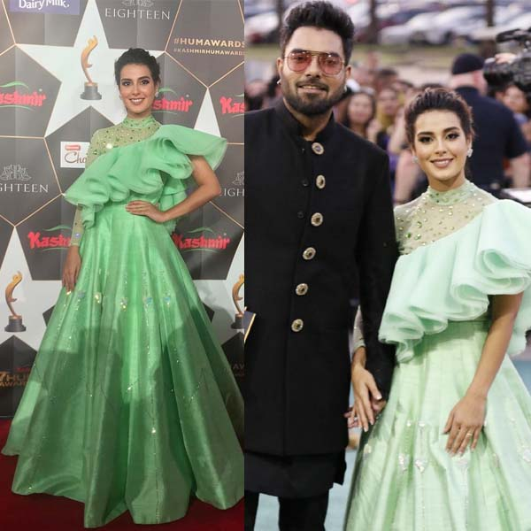 Iqra Aziz dress Hum Awards