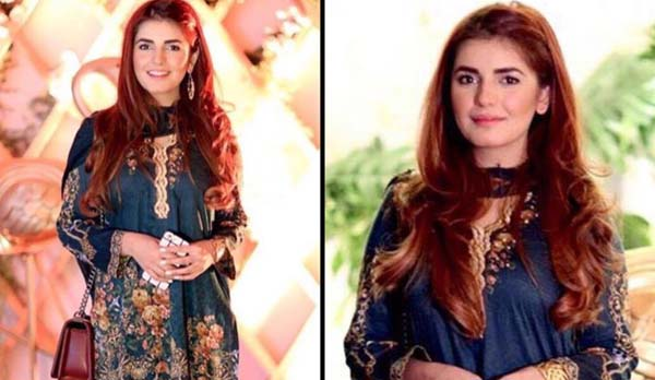 Beautiful Momina Mustehsan spotted in Cross Stitch Lawn