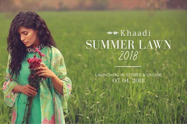10 exotic designs from Khaadi Summer lawn 2018
