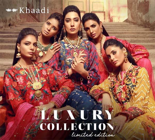 Khaadi festive luxury collection 2018
