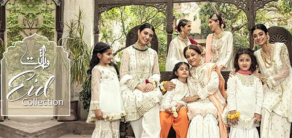 Maria B VIRASAT Eid Pret collection 2018