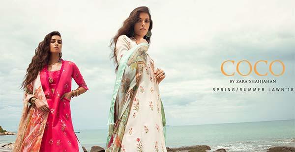 Zara Shahjahan launches Coco lawn 2018