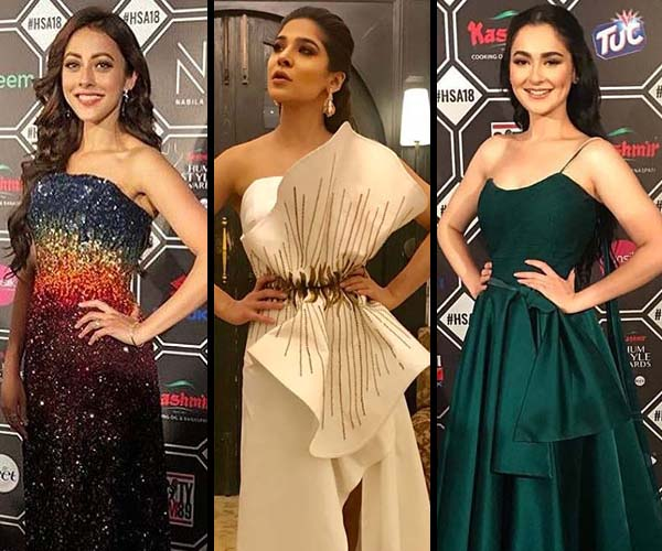 Who wears what at 6th Hum Style Awards