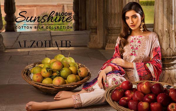 Al Zohaib Cotton Silk collection 2018 is full of colors