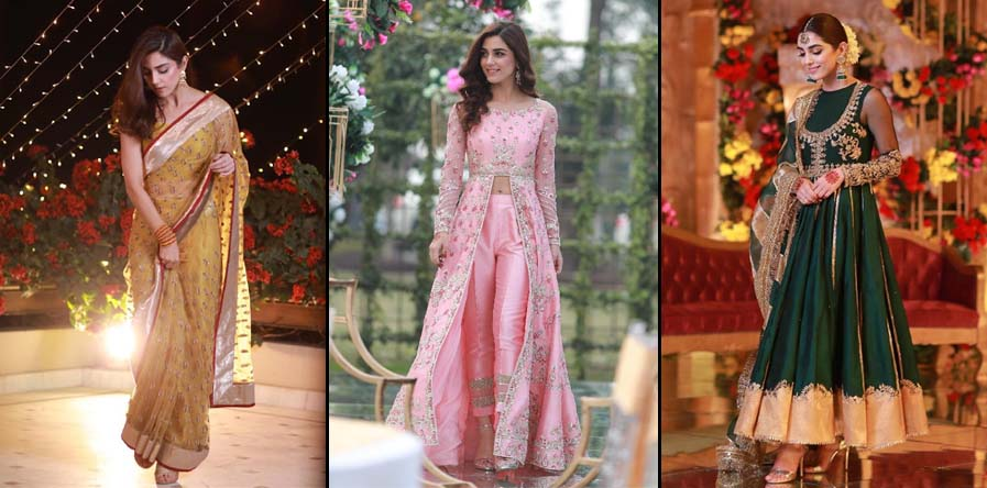 Maya Ali carried 6 different looks for her cousin's wedding