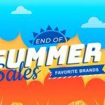 End of Season Sale September 2019