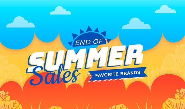 End of Summer 2019 Sales on your favorite brands